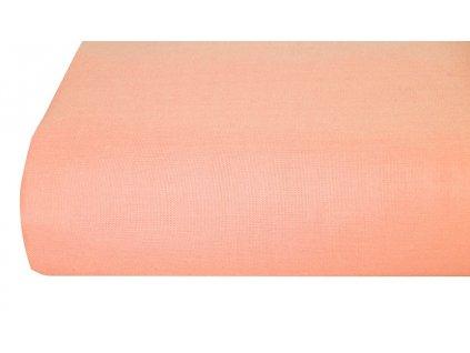 Aaryans Bavlněná plachta, prostěradlo 140x225 cm peach