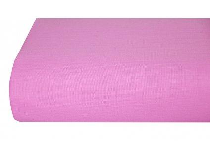 Bavlněná plachta, prostěradlo 140x225 cm růžové
