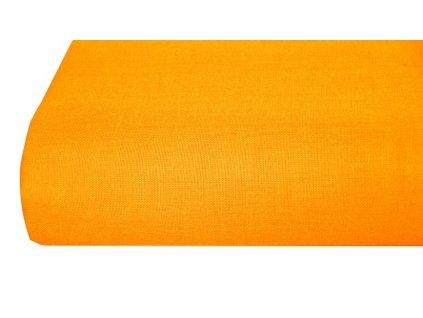 Aaryans Bavlněná plachta, prostěradlo 140x225 cm oranžové