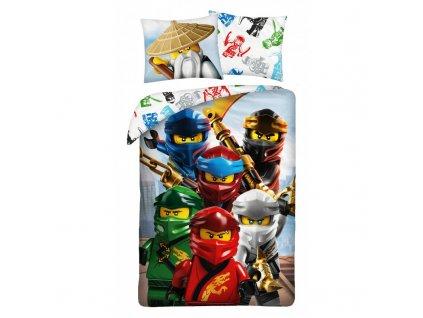 Povlečení LEGO NINJAGO 140x200/70x90