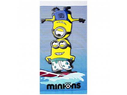 despicable me minions beach towel