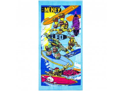 nt09001 teenage ninja turtles beach towel wholesale