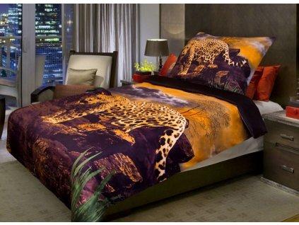 963 1 aaryans povleceni 3d leopard 140x200 70x90