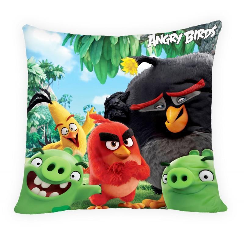 Halantex Polštář Angry Birds 40x40 cm