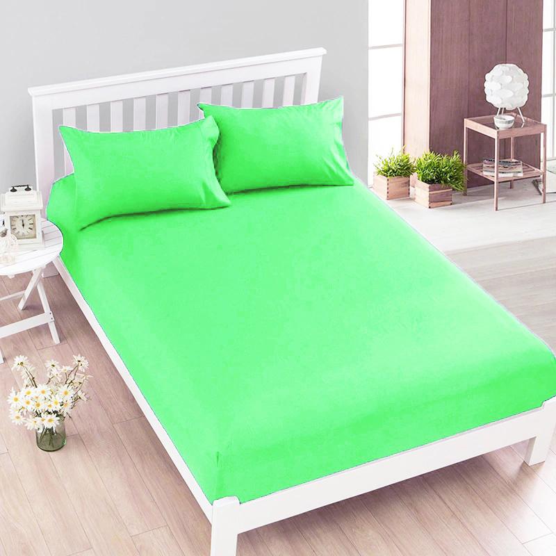 Jersey prostěradlo světle zelené Rozměry: 140 x 200 cm