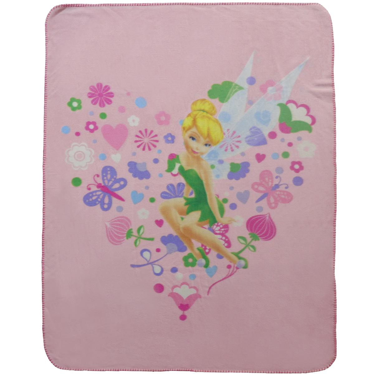 Dětská fleecová deka DISNEY FAIRIES SPRINGTIME 110x140 cm