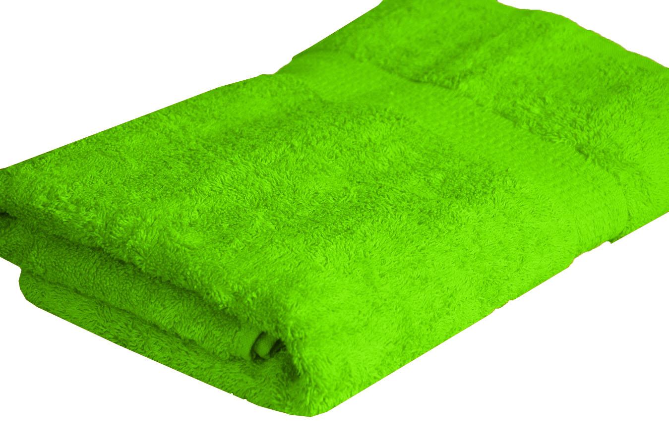 Froté ručník SPRING , 50x100 cm, zelený
