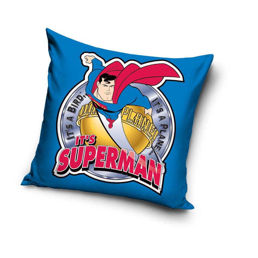Polštář SUPERMAN modrý 40x40cm
