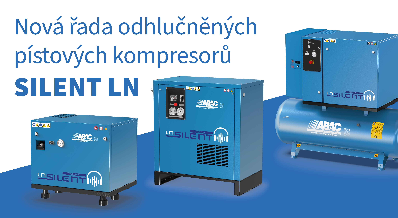 Odhlučněné kompresory Silent LN