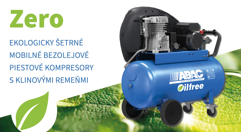Piestové kompresory Pro Line Zero