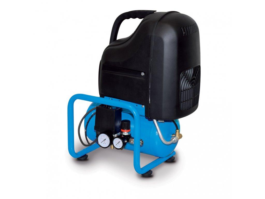 Kompresor Line O20PN-1,5-6CM  príkon 1,5 kW, sací výkon 230 l/min, tlak 8 bar, vzdušník 6 l, napätie 230/50 V/Hz