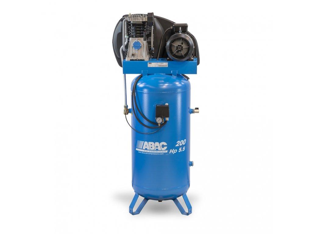 Kompresor Pro Line A49B-4-200VT  príkon 4 kW, sací výkon 595 l/min, tlak 11 bar, vzdušník 200 l, napätie 400/50 V/Hz