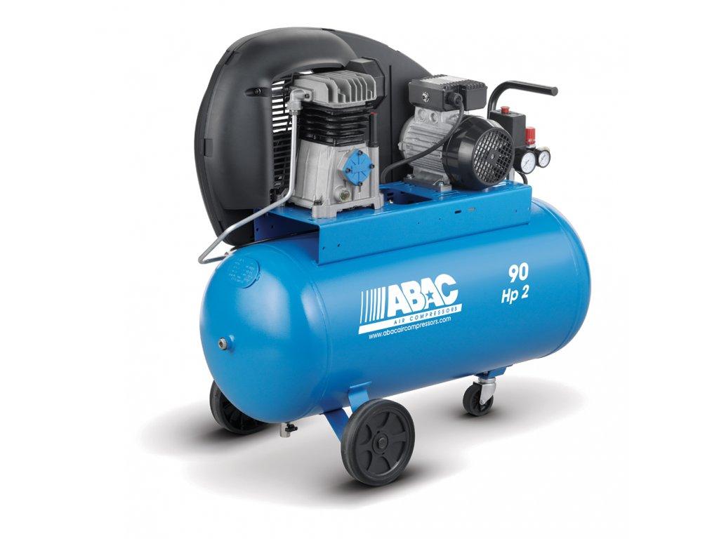 Kompresor Pro Line A29-1,5-90CM  príkon 1,5 kW, sací výkon 255 l/min, tlak 10 bar, vzdušník 90 l, napätie 230/50 V/Hz