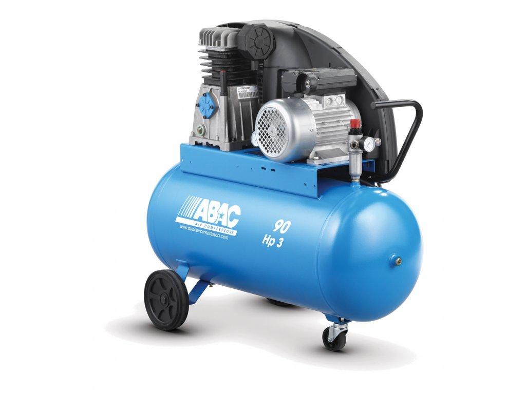 Kompresor Pro Line A39-2,2-90CM  príkon 2,2 kW, sací výkon 393 l/min, tlak 10 bar, vzdušník 90 l, napätie 230/50 V/Hz