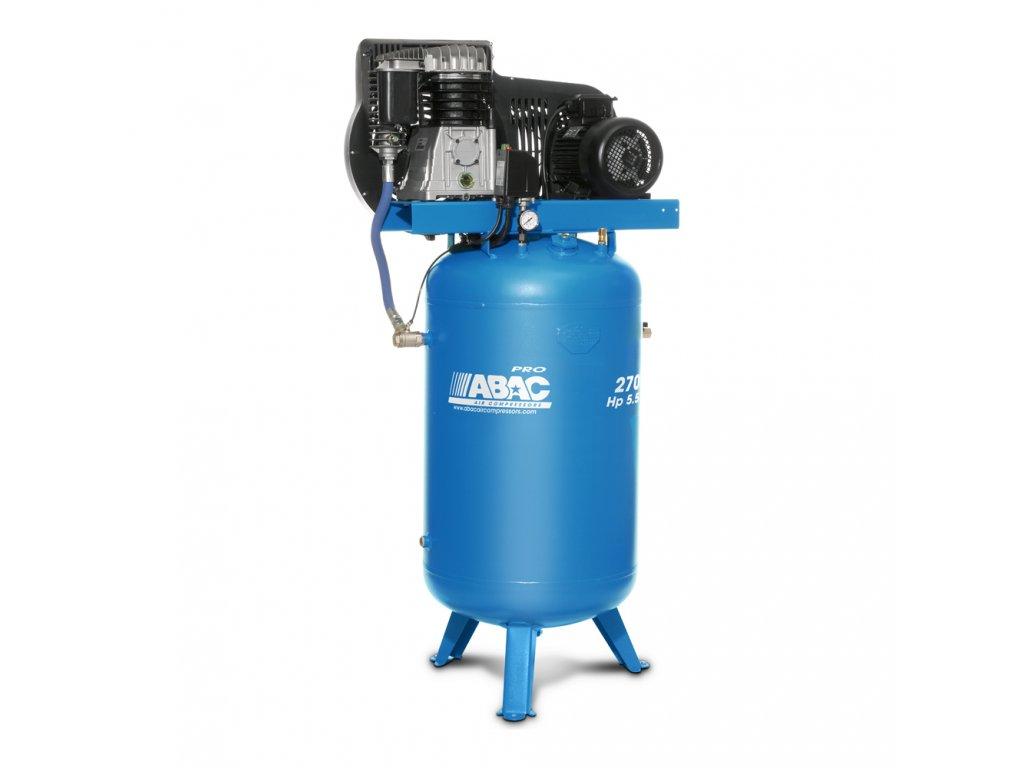 Kompresor Pro Line B59B-4-270VT  príkon 4 kW, sací výkon 653 l/min, tlak 11 bar, vzdušník 270 l, napätie 400/50 V/Hz