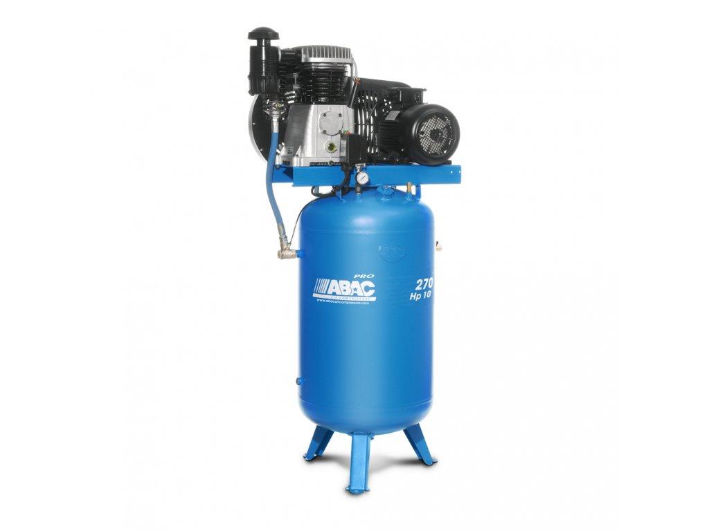 Kompresor Pro Line B70-7,5-270VT  príkon 7,5 kW, sací výkon 1 210 l/min, tlak 11 bar, vzdušník 270 l, napätie 400/50 V/Hz