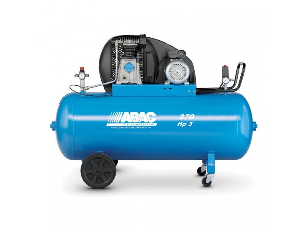 Kompresor Pro Line A39-2,2-270CT  príkon 2,2 kW, sací výkon 393 l/min, tlak 10 bar, vzdušník 270 l, napätie 400/50 V/Hz