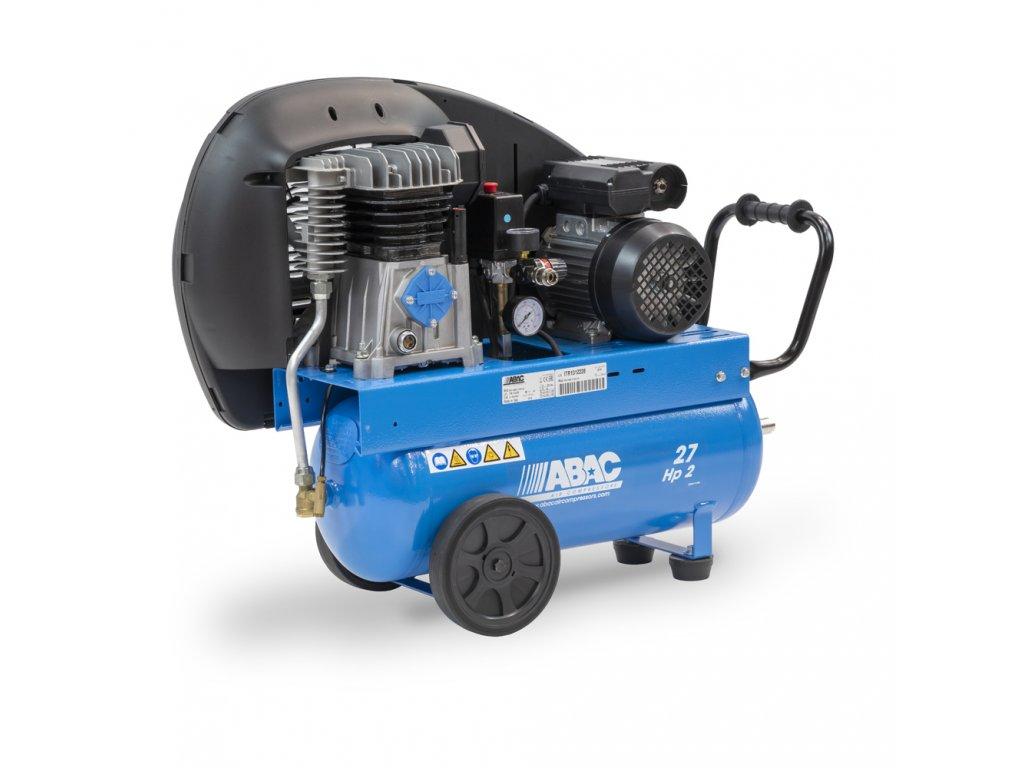 Kompresor Pro Line A29B-1,5-27CT  príkon 1,5 kW, sací výkon 255 l/min, tlak 10 bar, vzdušník 27 l, napätie 400/50 V/Hz