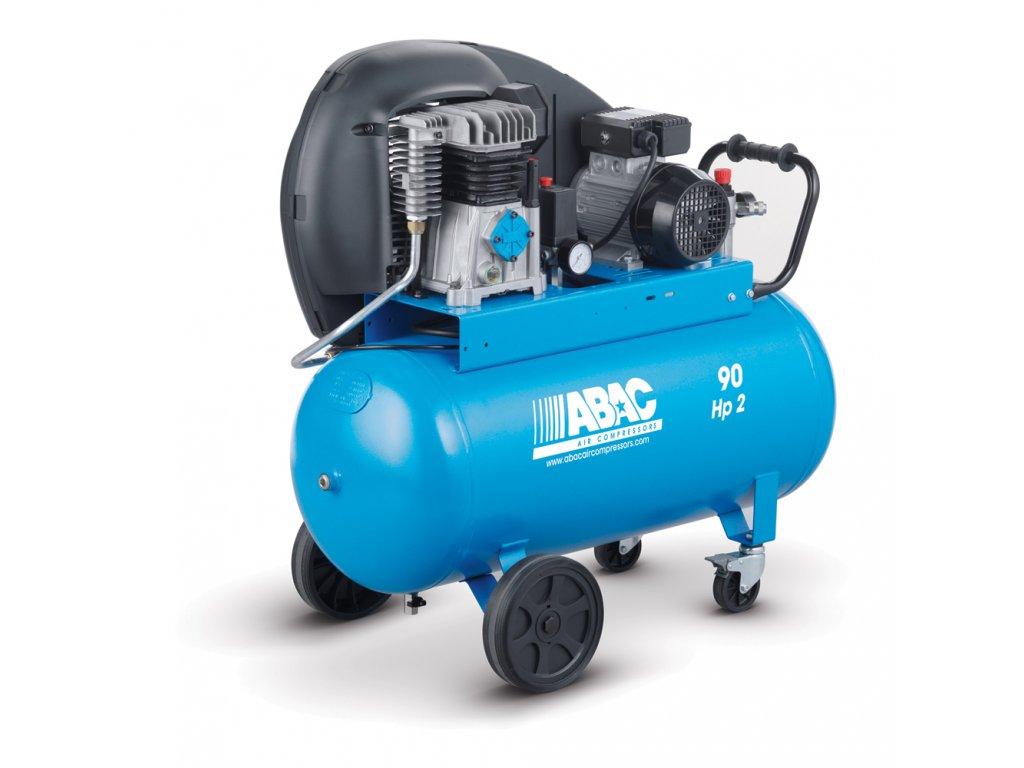Kompresor Pro Line A29B-1,5-90CM  príkon 1,5 kW, sací výkon 255 l/min, tlak 10 bar, vzdušník 90 l, napätie 230/50 V/Hz