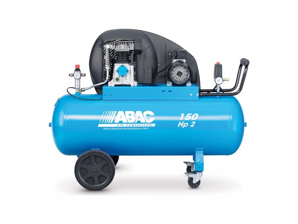 Kompresor Pro Line A29B-1,5-150CT  príkon 1,5 kW, sací výkon 255 l/min, tlak 10 bar, vzdušník 150 l, napätie 400/50 V/Hz