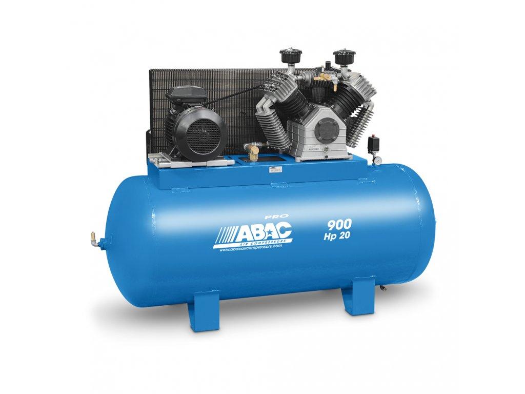 Kompresor Pro Line BV89-15-900FTX  príkon 15 kW, sací výkon 2 400 l/min, tlak 11 bar, vzdušník 900 l, napätie 400/50 V/Hz