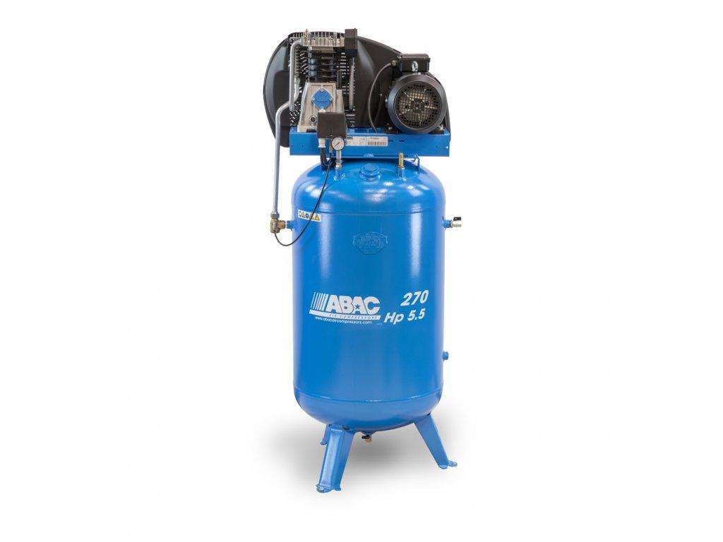 Kompresor Pro Line A49B-4-270VT  príkon 4 kW, sací výkon 595 l/min, tlak 11 bar, vzdušník 270 l, napätie 400/50 V/Hz