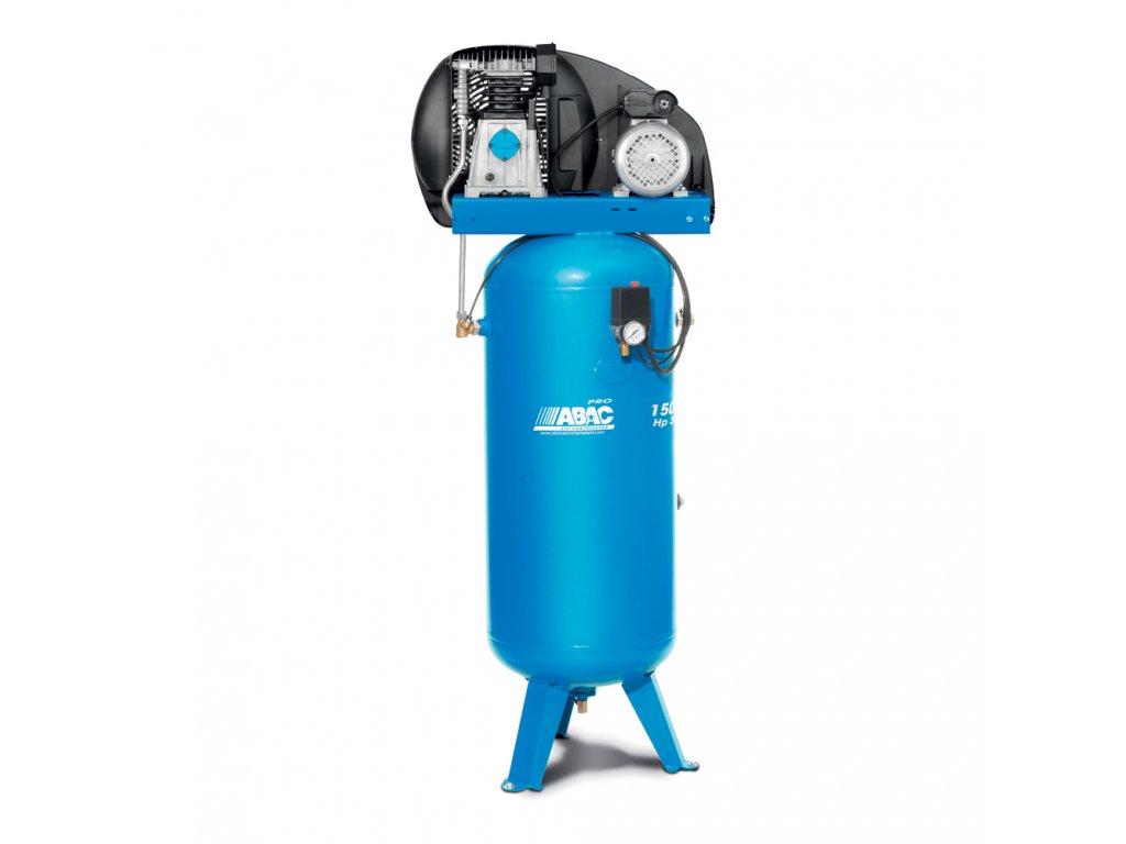 Kompresor Pro Line A39-2,2-150VT  príkon 2,2 kW, sací výkon 393 l/min, tlak 10 bar, vzdušník 150 l, napätie 400/50 V/Hz