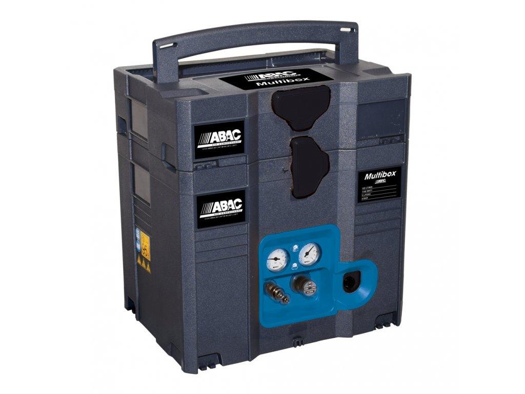 Kompresor Multibox MB-1,1-6BMX  príkon 1,1 kW, sací výkon 160 l/min, tlak 8 bar, vzdušník 6 l, napätie 230/50 V/Hz
