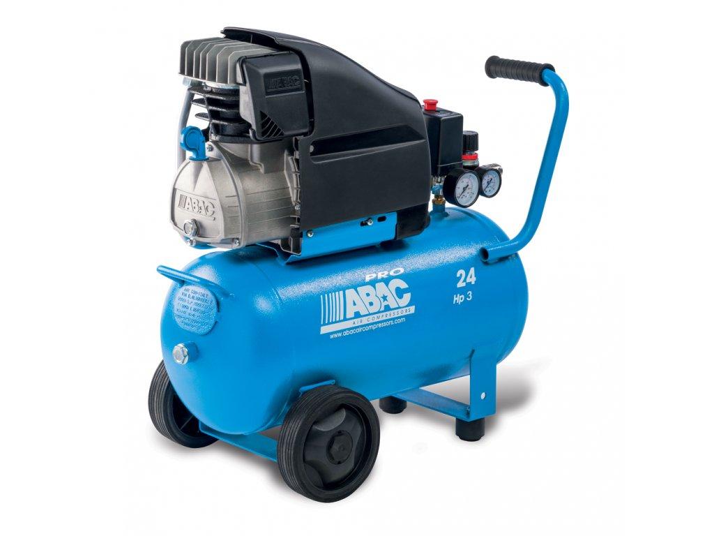 Kompresor Line L30PN-2,2-24CM  príkon 2,2 kW, sací výkon 310 l/min, tlak 10 bar, vzdušník 24 l, napätie 230/50 V/Hz