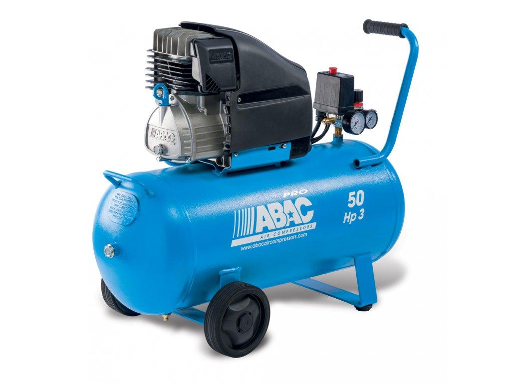 Kompresor Line L30PN-2,2-50CM  príkon 2,2 kW, sací výkon 310 l/min, tlak 10 bar, vzdušník 50 l, napätie 230/50 V/Hz