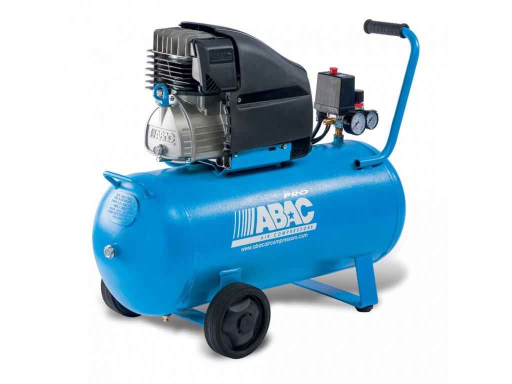 Kompresor Line L30PN-2,2-90CM  príkon 2,2 kW, sací výkon 310 l/min, tlak 10 bar, vzdušník 90 l, napätie 230/50 V/Hz