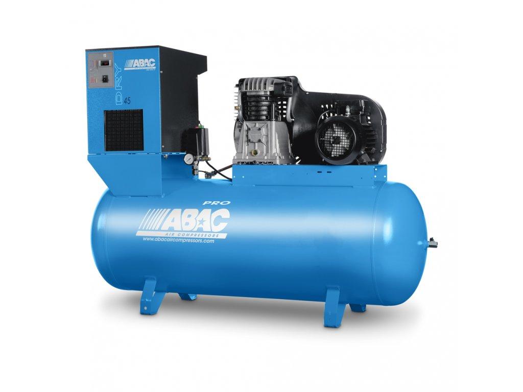 Kompresor Pro Line B60-5,5-270FTD  príkon 5,5 kW, sací výkon 827 l/min, tlak 11 bar, vzdušník 270 l, napätie 400/50 V/Hz