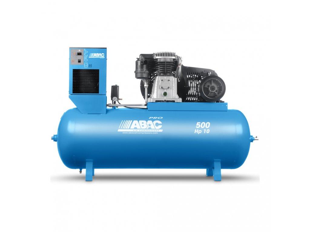 Kompresor Pro Line B70-7,5-500FTD  príkon 7,5 kW, sací výkon 1 210 l/min, tlak 11 bar, vzdušník 500 l, napätie 400/50 V/Hz
