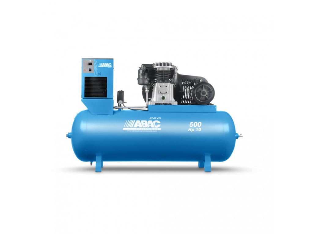Kompresor Pro Line B70-7,5-500FTXD  príkon 7,5 kW, sací výkon 1 210 l/min, tlak 11 bar, vzdušník 500 l, napätie 400/50 V/Hz