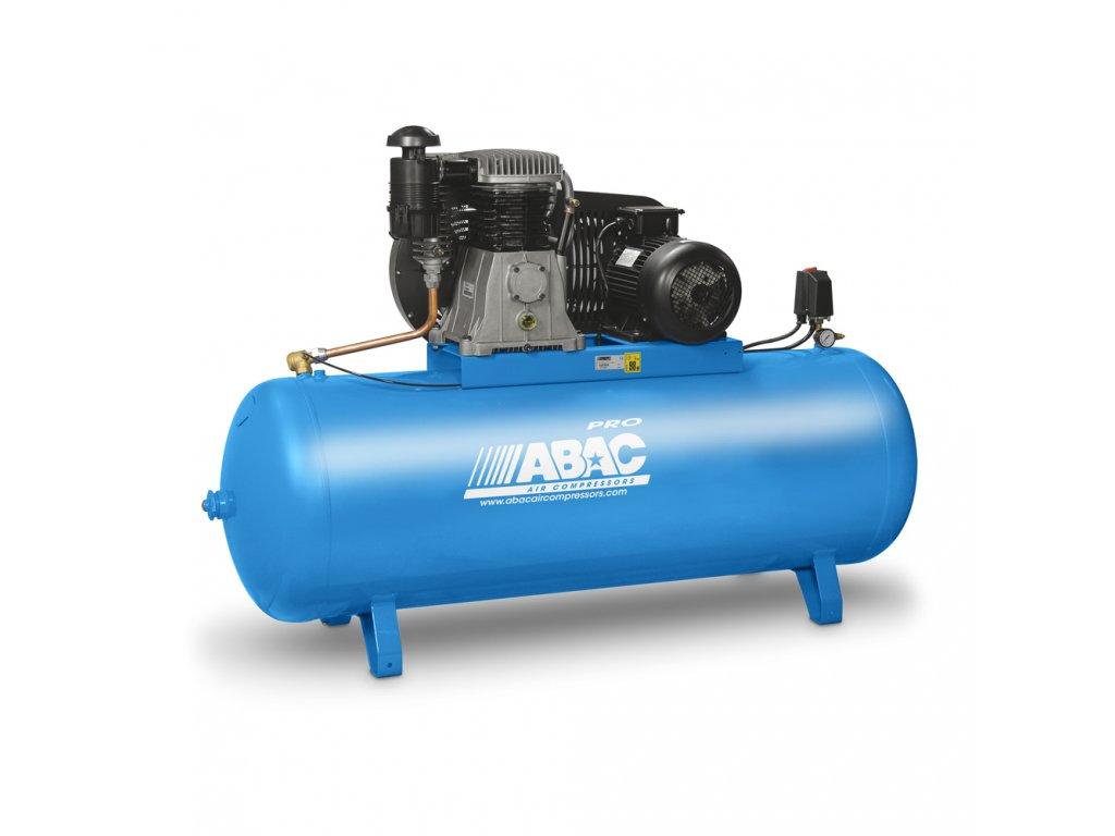 Kompresor Pro Line B59B-4-200FT  príkon 4 kW, sací výkon 653 l/min, tlak 11 bar, vzdušník 200 l, napätie 400/50 V/Hz