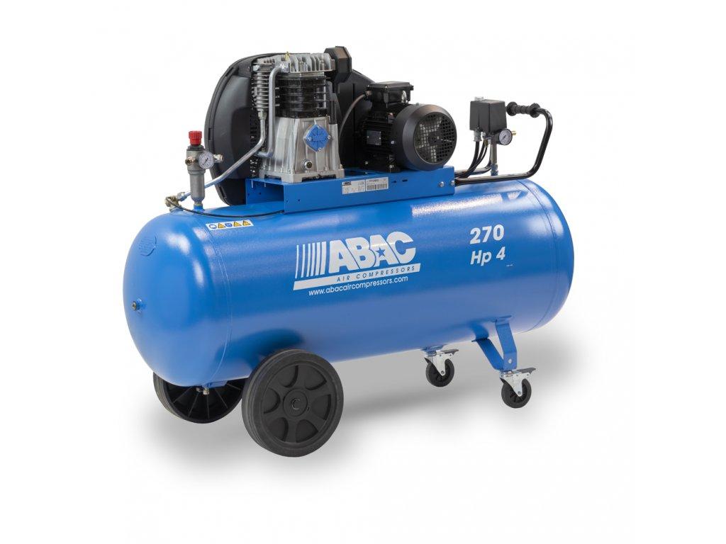 Kompresor Pro Line A49B-3-270CT  príkon 3 kW, sací výkon 553 l/min, tlak 11 bar, vzdušník 270 l, napätie 400/50 V/Hz