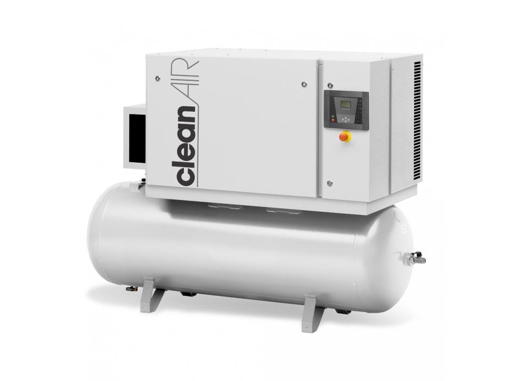 Kompresor Clean Air CNR-7,5-270FT  príkon 7,5 kW, sací výkon 930 l/min, tlak 10 bar, vzdušník 270 l, napätie 400/50 V/Hz