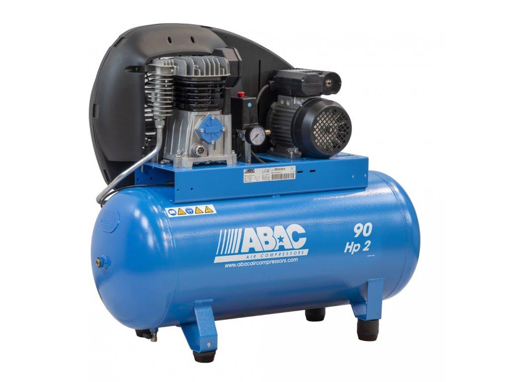 Kompresor Pro Line A29B-1,5-90FM  príkon 1,5 kW, sací výkon 255 l/min, tlak 10 bar, vzdušník 90 l, napätie 230/50 V/Hz