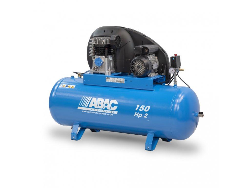 Kompresor Pro Line A29B-1,5-150FT  príkon 1,5 kW, sací výkon 255 l/min, tlak 10 bar, vzdušník 150 l, napätie 400/50 V/Hz