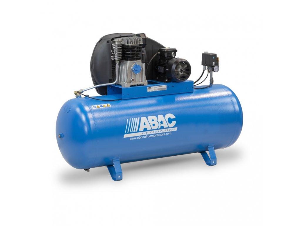 Kompresor Pro Line A39B-2,2-90FM  príkon 2,2 kW, sací výkon 393 l/min, tlak 10 bar, vzdušník 90 l, napätie 230/50 V/Hz