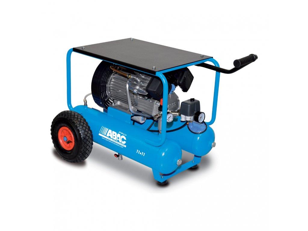 Kompresor Line V30-2,2-2x11CM  príkon 2,2 kW, sací výkon 330 l/min, tlak 10 bar, vzdušník 22 l, napätie 230/50 V/Hz