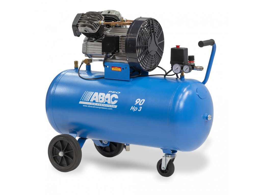 Kompresor Line V30-2,2-90CM  príkon 2,2 kW, sací výkon 330 l/min, tlak 10 bar, vzdušník 90 l, napätie 230/50 V/Hz