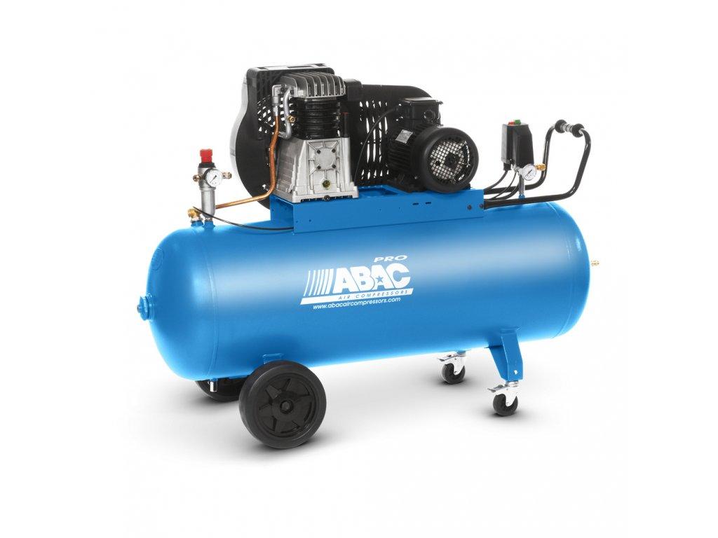 Kompresor Pro Line B59B-4-90CTH  príkon 4 kW, sací výkon 442 l/min, tlak 15 bar, vzdušník 90 l, napätie 400/50 V/Hz