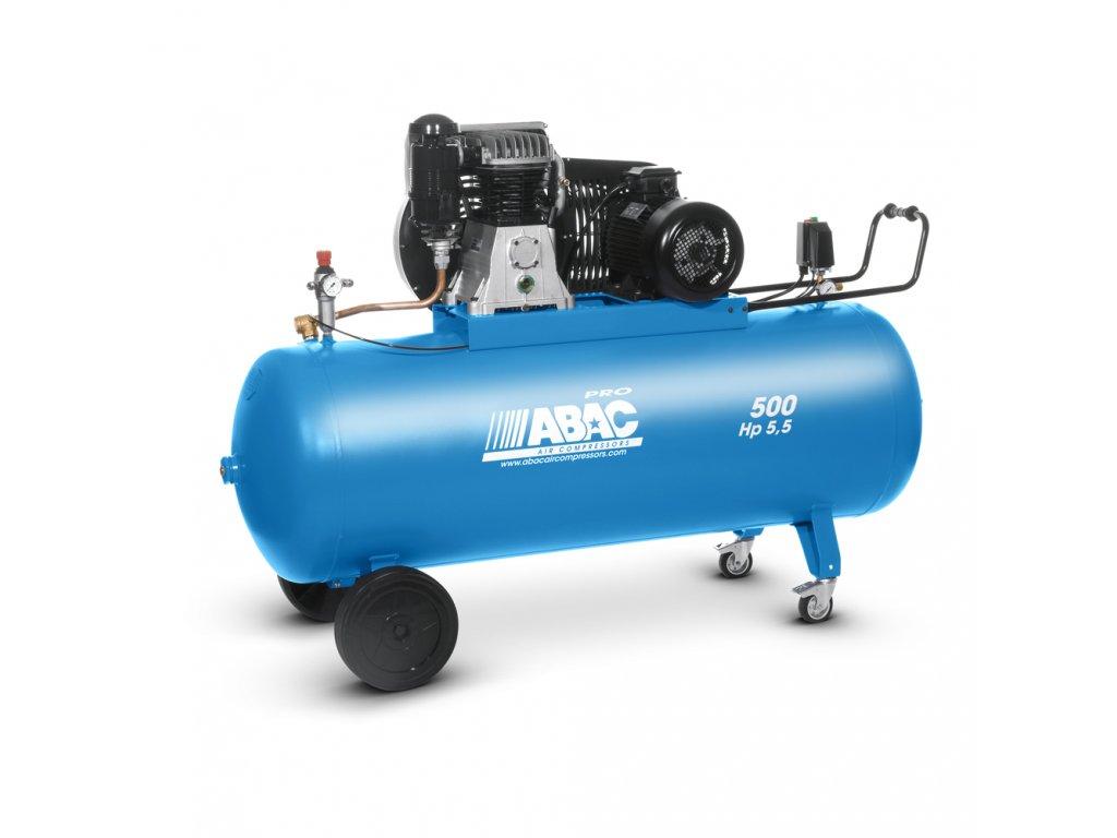 Kompresor Pro Line B60-4-500CT  príkon 4 kW, sací výkon 660 l/min, tlak 11 bar, vzdušník 500 l, napätie 400/50 V/Hz
