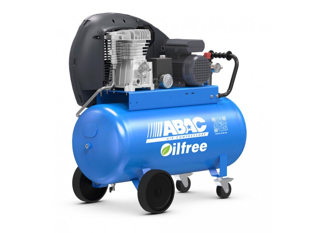 Kompresor Pro Line Zero A29B0-2,2-100CT  príkon 2,2 kW, sací výkon 320 l/min, tlak 10 bar, vzdušník 100 l, napätie 400/50 V/Hz