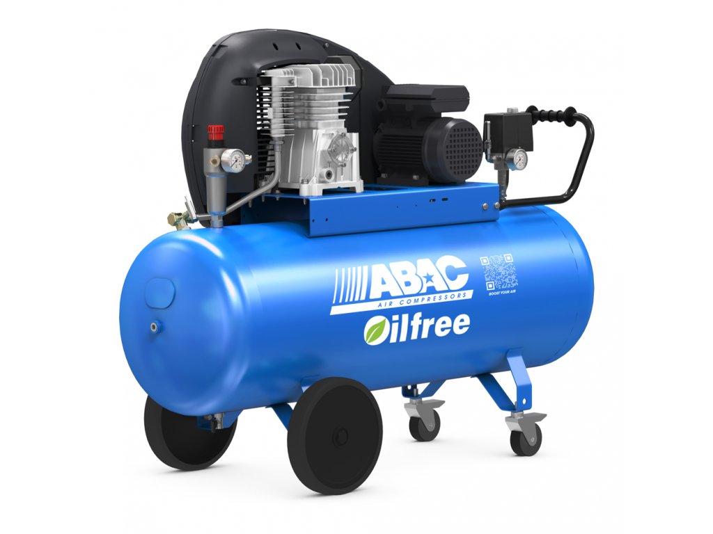 Kompresor Pro Line Zero A29B0-2,2-150CT  príkon 2,2 kW, sací výkon 320 l/min, tlak 10 bar, vzdušník 150 l, napätie 400/50 V/Hz