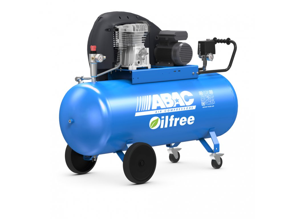 Kompresor Pro Line Zero A29B0-2,2-200CM  príkon 2,2 kW, sací výkon 320 l/min, tlak 10 bar, vzdušník 200 l, napätie 230/50 V/Hz