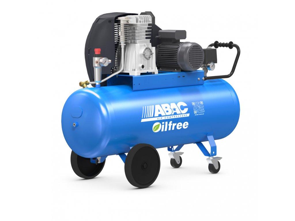 Kompresor Pro Line Zero A39B0-2,2-150CT  príkon 2,2 kW, sací výkon 393 l/min, tlak 10 bar, vzdušník 150 l, napätie 400/50 V/Hz