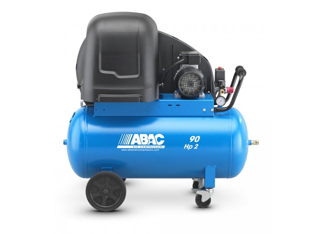 Odhlučnený kompresor Silent Line A29B-1,5-90CTS  príkon 1,5 kW, sací výkon 255 l/min, tlak 10 bar, vzdušník 10 l, napätie 400/50 V/Hz