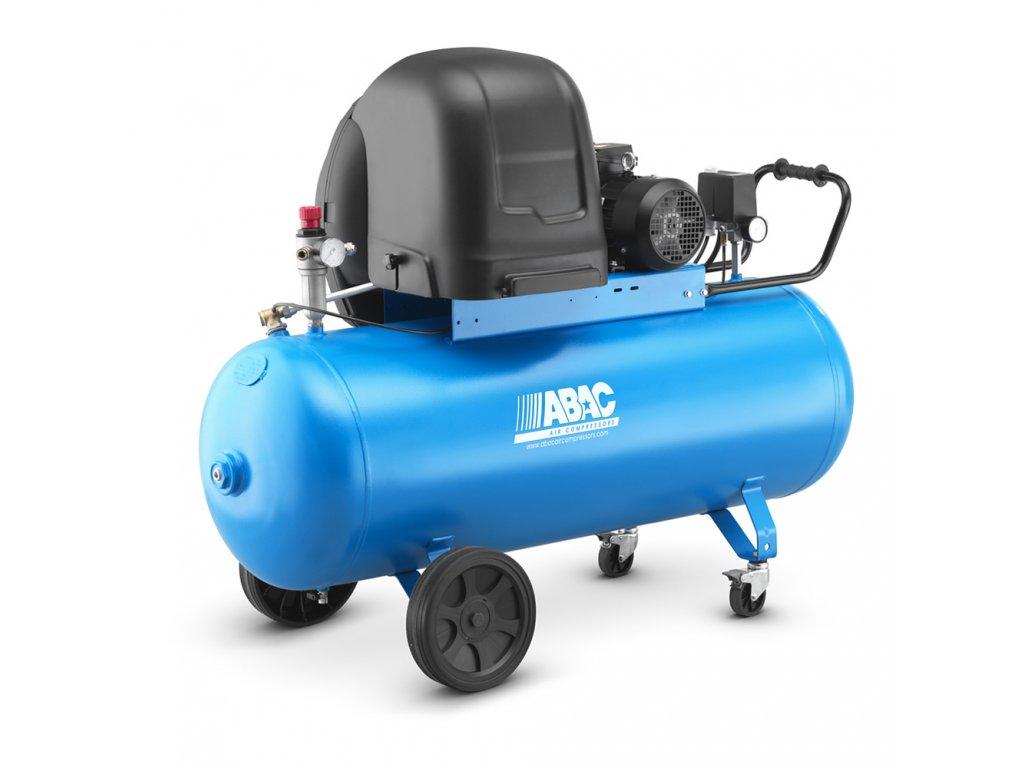 Odhlučnený kompresor Silent Line A29B-1,5-150CTS  príkon 1,5 kW, sací výkon 255 l/min, tlak 10 bar, vzdušník 150 l, napätie 400/50 V/Hz